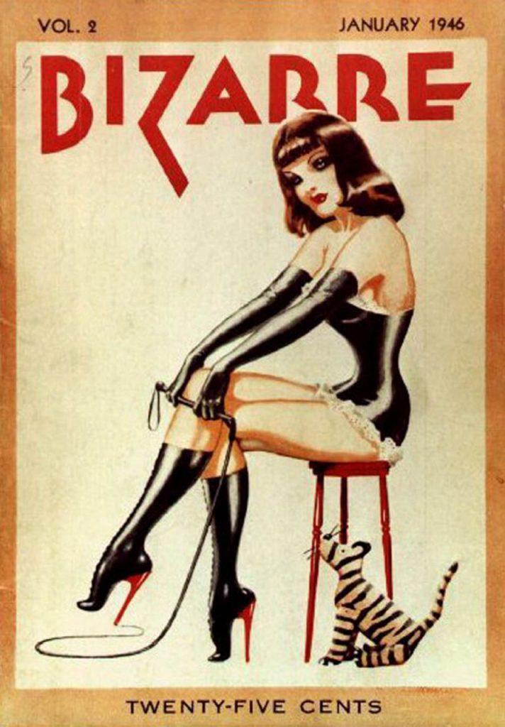 A Bizarre magazin 1946 januári száma